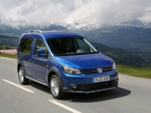 Фото Volkswagen Cross Caddy минивэн  №10