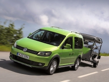 Фото Volkswagen Cross Caddy минивэн  №16